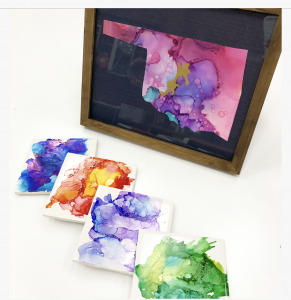 Alcohol Ink mini class
